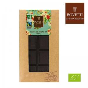Chocolat noir bio 100 masse de cacao
