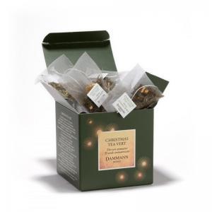 Christmas tea vert 25 sachets cristal