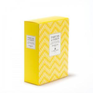 Coffret jaune parfums de saison printemps ete 2021 20 sachets assortis