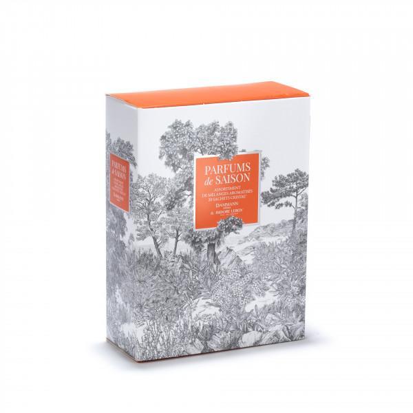Coffret parfums de saison automne 20 sachets assortis
