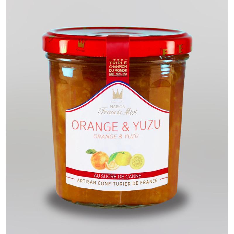 Confiture d orange yuzu au sucre de canne