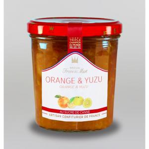 Confiture d orange yuzu au sucre de canne