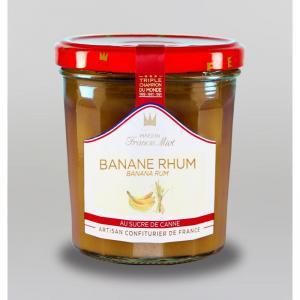 Confiture de banane rhum au sucre de canne 1