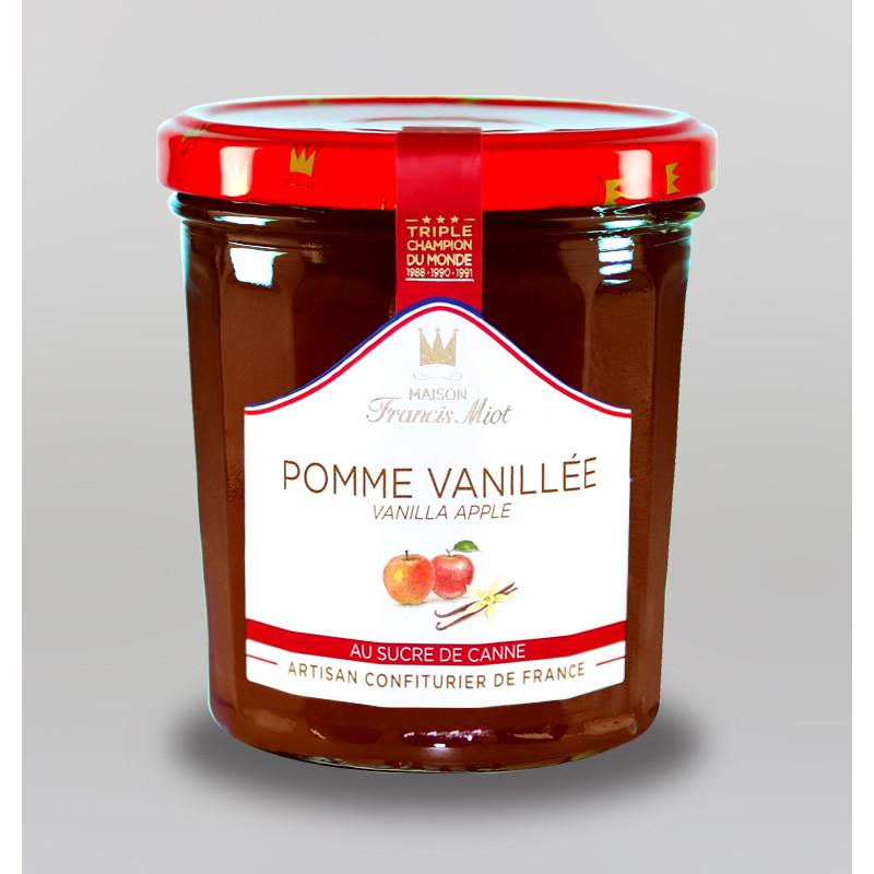 Confiture de pomme vanillee au sucre de canne 1