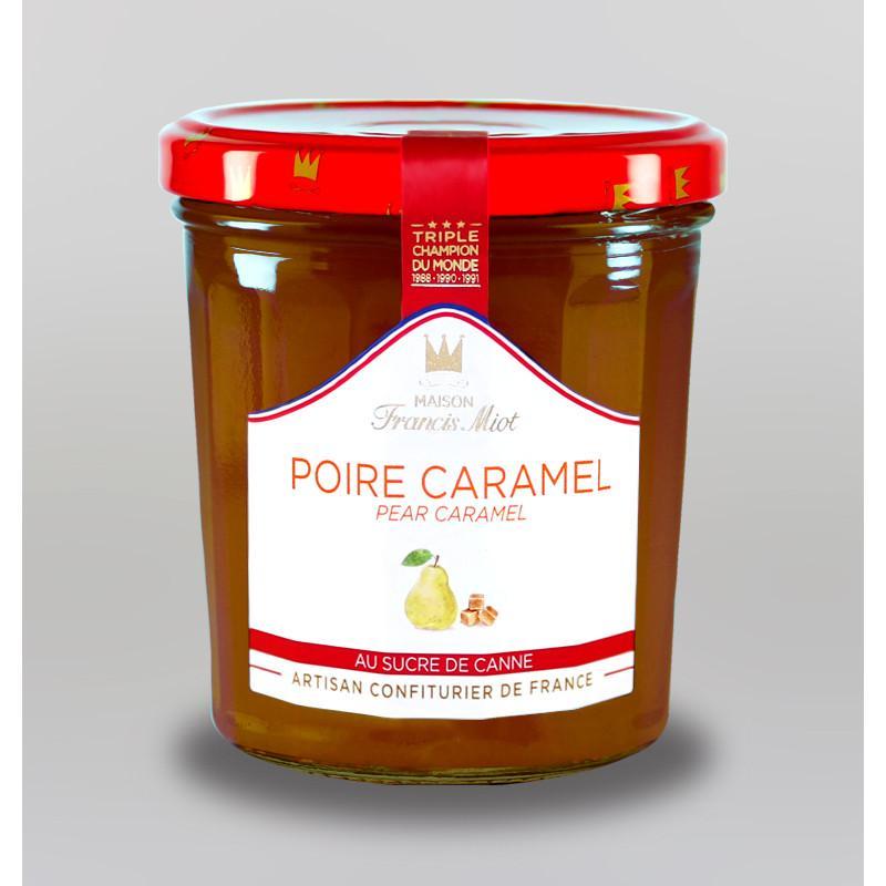 Confiture poire caramel au sucre de canne 1