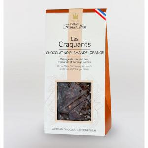 Craquants chocolat noir amande orange 1
