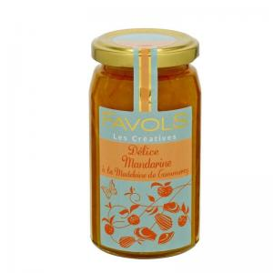 Delice mandarine madeleine de commercy