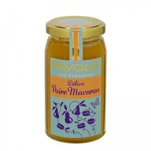 Delice poire macaron