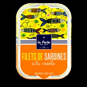 Filets de sardines sans huile a la creole