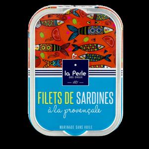 Filets de sardines sans huile a la provencale