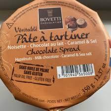 Noisette chocoat lait caramel et sel