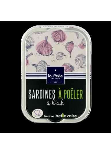 Sardines a poeler a l ail