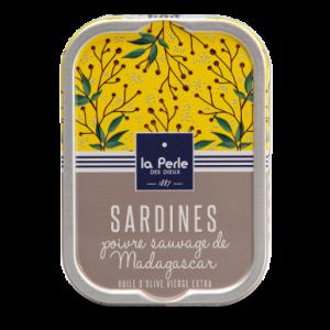 Sardines au poivre sauvage de madagascar