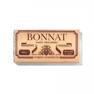Tablette chocolat a cuire 200gr bonnat