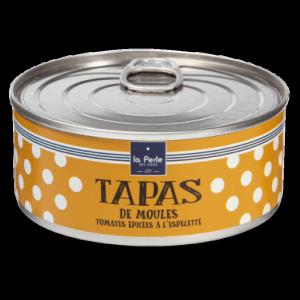 Tapas de moules aux tomates epicees a l espelette
