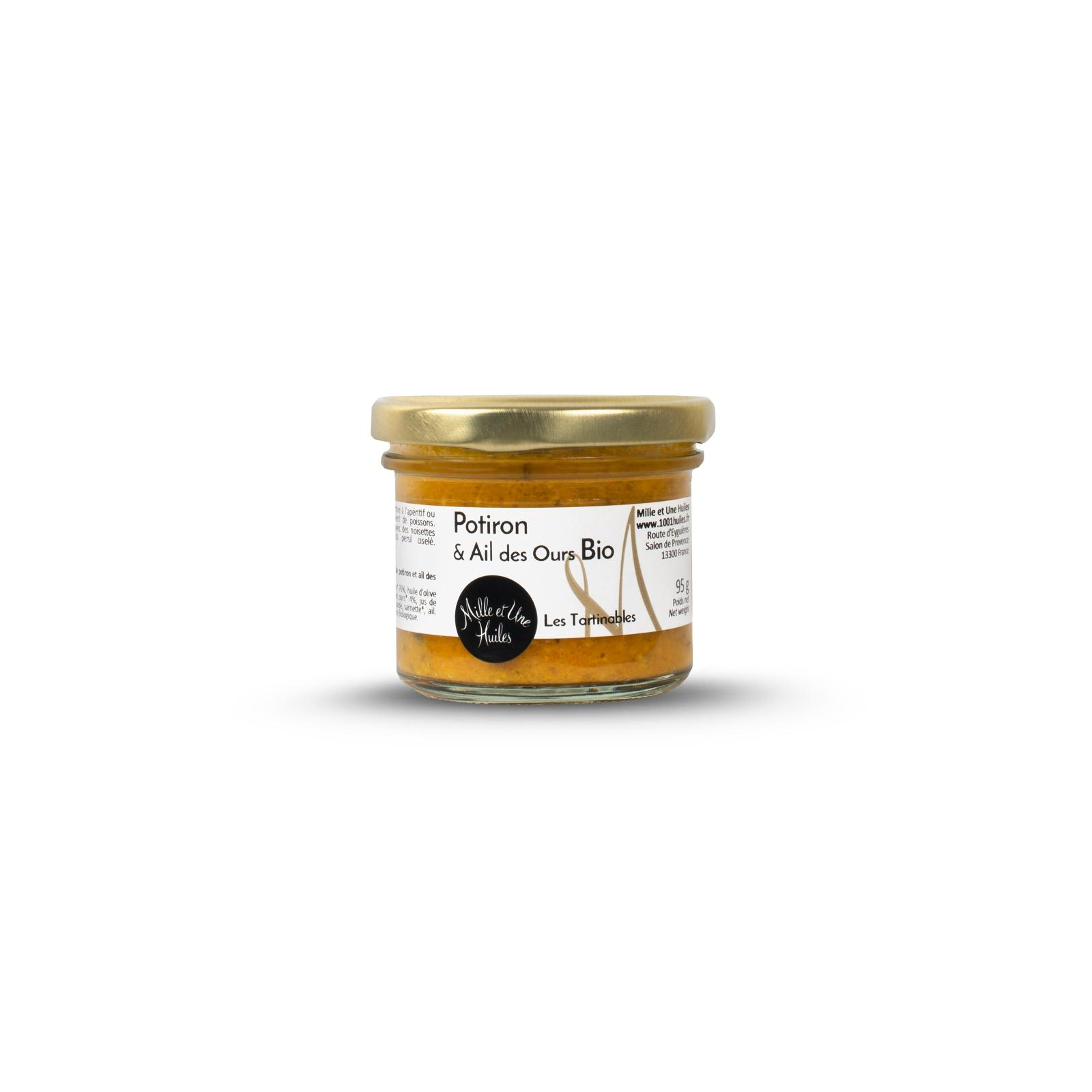 Tartinable potiron ail des ours