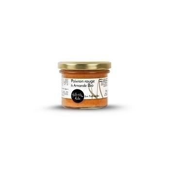Tartinade poivron rouge amande