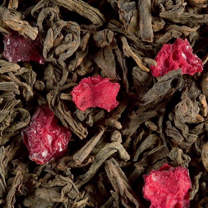 The sombre pu erh fruits rouges