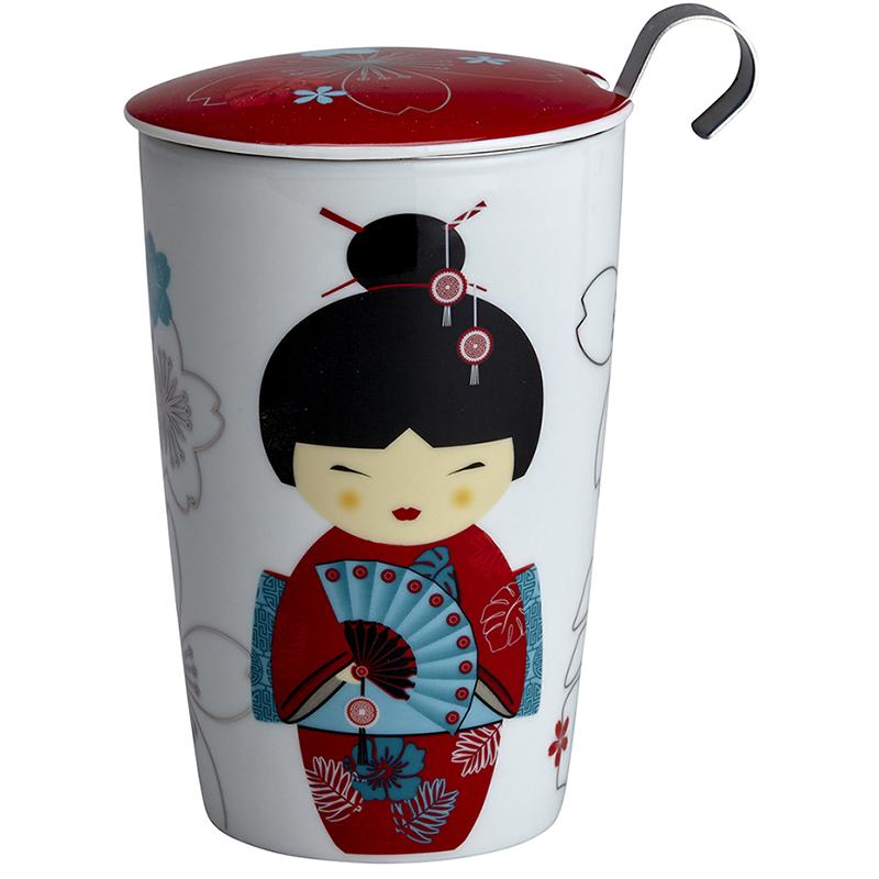 Tisaniere teaeve little geisha filtre inox